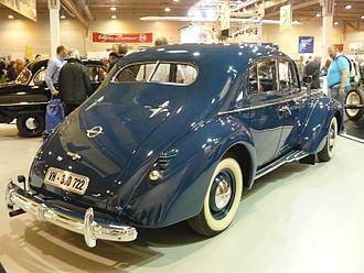 Opel Admiral - Opel Admiral 1938.