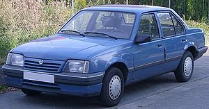 Stig Bergling - Opel Ascona was one of the escape vehicles used during Bergling's prison escape in October, 1987.
