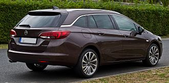 Opel Astra - Opel Astra 1.6 BiTurbo CDTI ecoFLEX Innovation Sports Tourer (Germany)