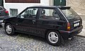 Opel Corsa Joy 1.4 3-door (1990-1993 facelift), rear left.jpg