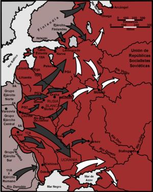 La mayor operacion terrestre de la historia