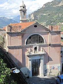 L'oratorio di San Giovanni Battista a Ventimiglia Alta