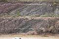 Ordovician Limestone Overlain by Silurian Sandstone (5333587429).jpg