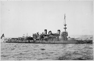 USS Oregon (BB-3) - USS Oregon in 1898.