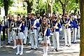 Orkiestra Dęta Ochotniczej Straży Pożarnej w Aleksandrowie Kujawskim w nowych mundurach podczas XXV Regionalnego Przeglądu Orkiestr OSP w Ciechocinku.jpg