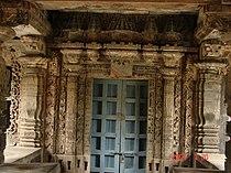 Ornate porch entrance in Nagaresvara Temple at Bankapura.jpg