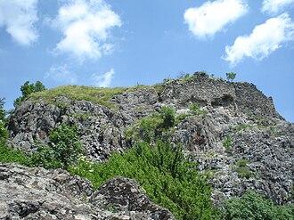 Ostrvica Fortress - Remnants of Ostrvica castle