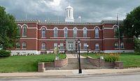 Otoe County, Nebraska courthouse from N 2