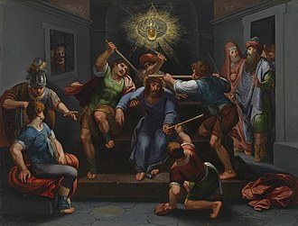 Otto van Veen - The mocking of Christ