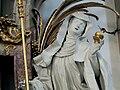 Ottobeuren Basilika Ottobeuren altar of st scholastica 04.JPG
