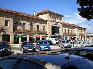Ourense-Empalme railway station - Ourense-Empalme Railway Station.