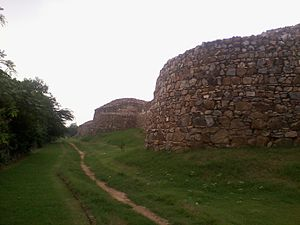 Qila Rai Pithora - Outer Wall of Lal Kot and Rai Pithora