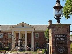 Ekster la Domego de la Gates of Governor - Peceto-Roko - Arkansaso - USA.jpg