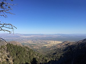 Overlooking Green Valley from the Santa Rita mountains.jpg