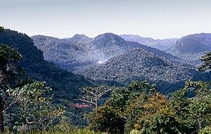 Owen Stanley Range - View from Owers Corner. The Kokoda Track crosses here.
