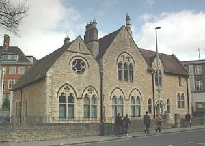 Charles Buckeridge - Former court house (later a probate office), New Road, Oxford (1863)
