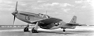 54th Fighter Group - 54th Fighter Group P-51 at Hillsborough AAF