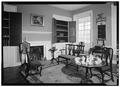 PARLOR, FIRST FLOOR - Rockford, Rock Ford Road (West Lampeter Township), Lancaster, Lancaster County, PA HABS PA,36-LANC.V,1-11.tif