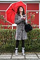 PERUGIA - The writer Marta Cassieri in a raining day - By The Fashionist.se.JPG