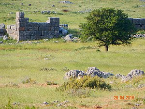 Plataea - Part of the wall of Plataeae