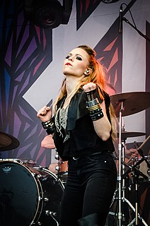 Paula Vesala Finnish singer, musician, lyricist and actress