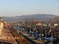 POL stacja kolejowa Nowy Sacz.JPG
