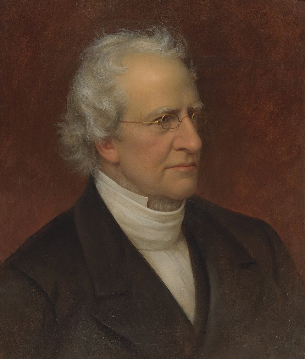 PORTRAIT OF CHARLES HODGE, Rembrandt Peale