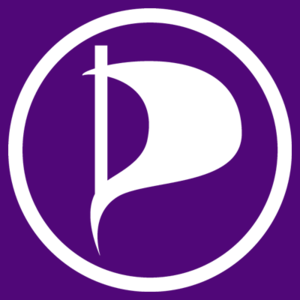 Pirate Party of Canada - Current promotional logo