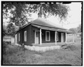 PYRAMID COTTAGE, EXTERIOR SOUTHWEST. - 303 Third Street (House), Thomas, Jefferson County, AL HAER ALA,37-THOS,4-1.tif