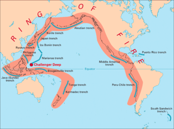 El Cinturón de Fuego del Pacífico acumula una enorme tensión sísmica (1/2)