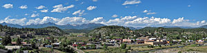 Pagosa Springs, Colorado - Pagosa Springs panorama