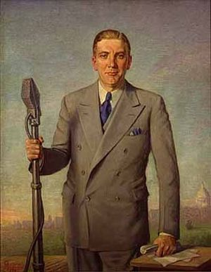 Minnesota gubernatorial election, 1924 - Image: Painting of Governor Floyd B. Olson