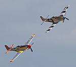 Pair of Mustang P-51s (5927460670).jpg