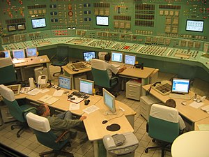 Paks Nuclear Power Plant - Controlroom
