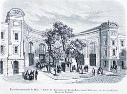 Exposition universelle de 1855 wikip dia - Code promo geant des beaux arts ...
