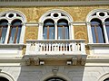 Palazzo della Camera di Commercio, facciata, dettaglio balcone (Rovigo).jpg