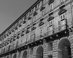 Ministry of the Interior (Italy) - Palazzo delle Segreterie, in Turin; first seat of the Ministry of the Interior of the Italian State (until 1865) and now the headquarters of the Prefecture