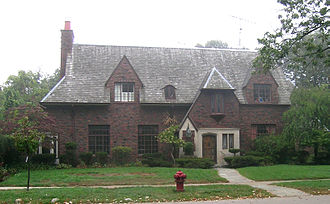 Palmer Woods - Shingle style house in Palmer Woods