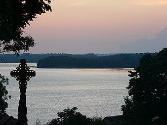 Aukštaitija National Park - Lūšiai lake in Palūšė