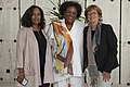 Pamela Coke-Hamilton, Mia Mottley and Isabelle Durant.jpg