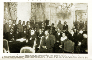 Pan-African Congress - Pan-African Congress, Paris, February 19-22, 1919
