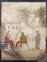Pan suona il flauto con una ninfa alla lira e due spettatori, da casa di giasone, 20-25 dc. ca. 111473.jpg
