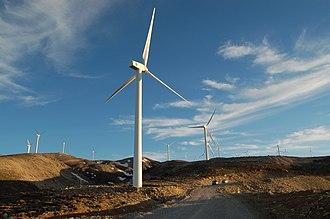 Panachaiko - Image: Panachaiko mountain Windmills panoramio Michael Paraskevas