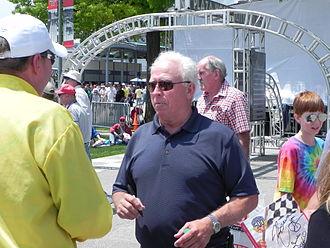 Pancho Carter - Carter at the 2011 Indianapolis 500