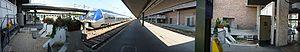 Paris-Bercy-Bourgogne-Pays d'Auvergne - Image: Pano Quai Gare De Bercy