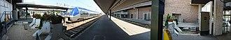 Gare de Paris-Bercy-Bourgogne-Pays d'Auvergne - Image: Pano Quai Gare De Bercy