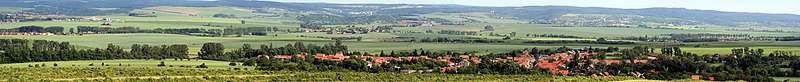 Panorama Austerlitz Battle Field Prace Czech Rep.jpg