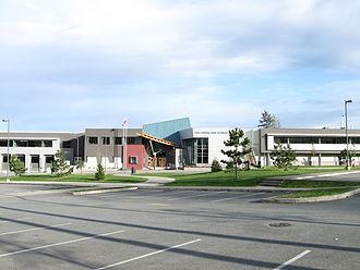 Panorama Ridge Secondary School - Image: Panorama Ridge Secondary (64 Avenue)