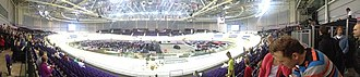 Commonwealth Arena and Sir Chris Hoy Velodrome - Image: Panorama Sir Chris Hoy Velodrome Glasgow
