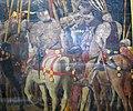 Paolo uccello, contattacco di micheletto da cotignola, serie della battaglia di san romano, 1435-40 ca. 03.JPG